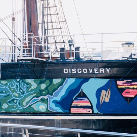 river tay art banner dundee